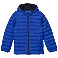 Tom Joule Blue Pack Away Padded Jacket Dazzling Blue