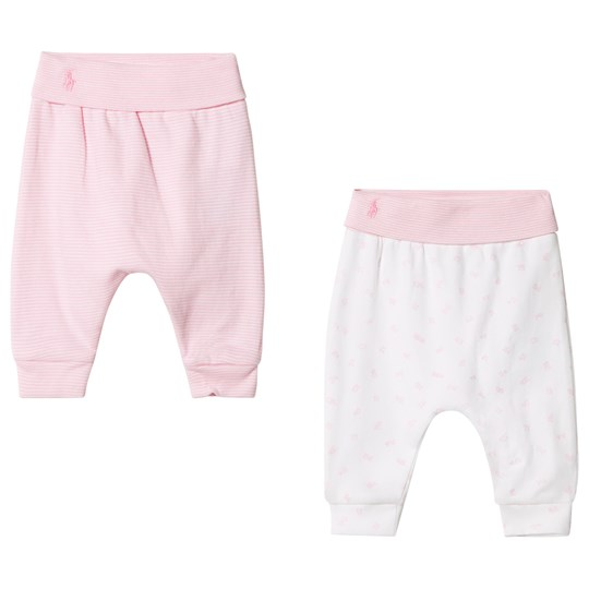 Ralph Lauren 2 Pack Legging Set Fresh Pink/white Fresh Pink/white