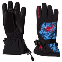 Spyder Spiderman Marvel Overweb Ski Gloves 018 BLACK/SPIDERMAN