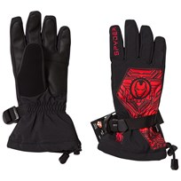 Spyder Iron Man Marvel Overweb Ski Gloves 019 BLACK/IRONMAN