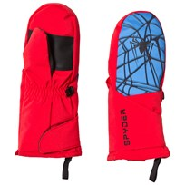 Spyder Spiderman Marvel Overweb Mini Ski Mittens 600 RED/ SPIDERMAN