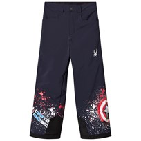 Spyder Captain America Marvel Hero Junior Ski Pants 402 FRO/ CAPTAIN