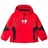 Spyder Iron Man Marvel Ambush Kids Ski Jacket 600 RED/ IRON MAN