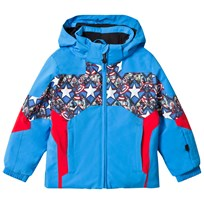 Spyder Captain America Marvel Ambush Kids Ski Jacket 499 FRB/ CAPTAIN