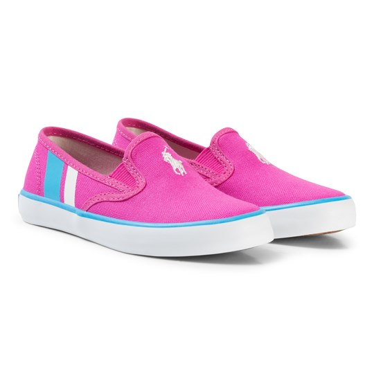 Ralph Lauren Fuchsia Piper Slip-On Pink
