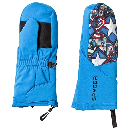 Spyder Captain America Marvel Overweb Mini Ski Mittens 434 FRB/ CAPTAIN