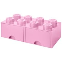 LEGO Inredning LEGO BRICK DRAWER (8 KNOBS) Light purple