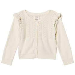 GAP Knitted Cardigan Ivory Frost