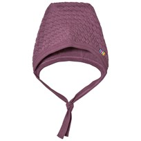 Joha Bubble Knit Hat Purple 15583