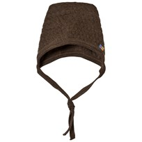 Joha Bubble Knit Hat Brown 15588