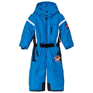 Image of Poivre Blanc Blue Snowsuit with Embroidered Back 18 months (2851082243)