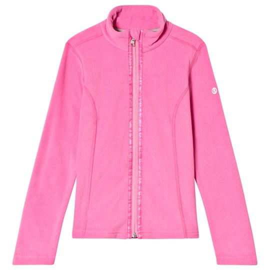 Poivre Blanc Pink Micro Fleece Full Zip Mid Layer 0034