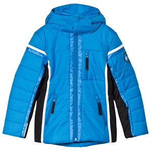 Image of Poivre Blanc Blue Insulated Side Panelled Ski Jacket 10 years (2851080945)
