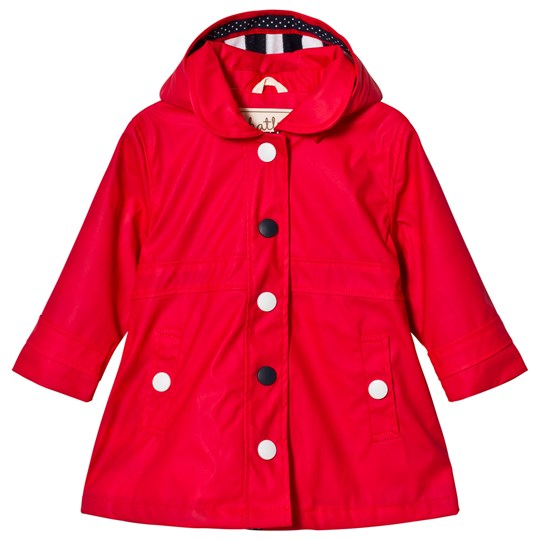 Hatley Red Classic Raincoat Red