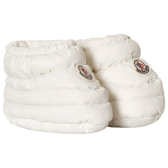 Moncler Baby Footies White White