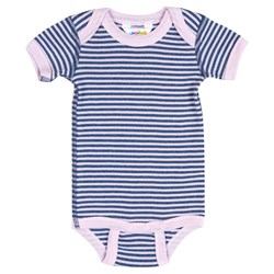 Joha Stripe Baby Body Blue/Pink