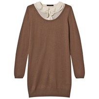 Mom2Mom Cashmere Dress Prep Latte Latte