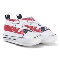 Converse Stars and Stripes Chuck Taylor All Star Crib Shoes STARS & BARS