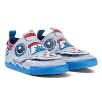 Converse Ship Chuck Taylor All Star Creatures Infant Trainers WOLF GREY/ITALY BLUE/CASINO