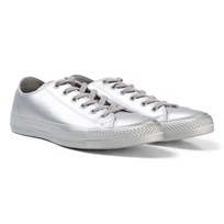 Converse Chuck Taylor All Star Metallic Shoes Silver Silver
