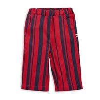 Mini Rodini Odd Stripe Woven Trousers Red Red