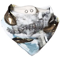 Molo Nick Baby Scarf Hover Cars Hover Cars