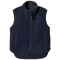Molo Uni Gilet Dark Denim Dark Denim