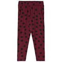 Soft Gallery Louise Pants Chocolate Truffle Chocolate truffle, AOP Hail