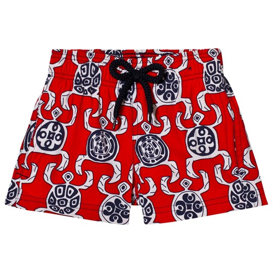 Vilebrequin Red Turtle Print Swim Shorts 201