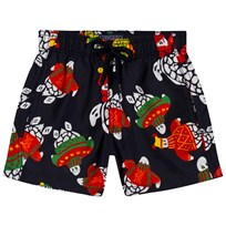 Vilebrequin Navy Winter Turtle Print Swim Shorts 390