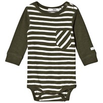 eBBe Kids Peg Baby Body Green Nature/Off White Green nature/offwhite