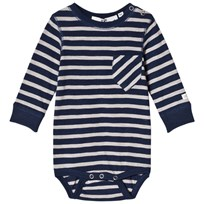 eBBe Kids Peg Baby Body Deep Navy/Grey Deep navy/grey