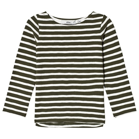 ebbe Kids Pixel Tee Green Nature/Off White Green nature/offwhite