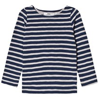 eBBe Kids Pixel L/S Tee Deep Navy/Grey Deep navy/grey