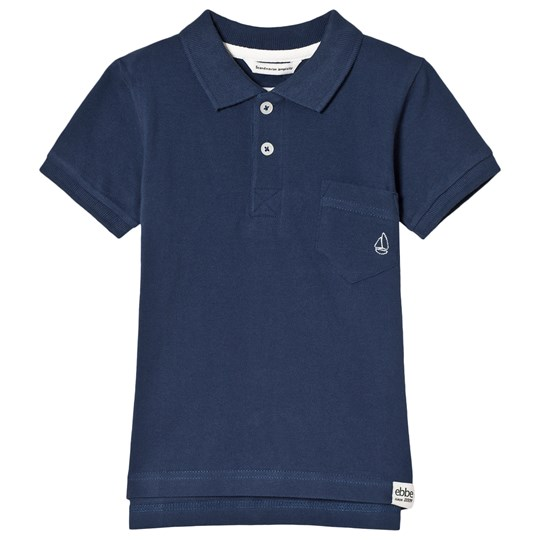ebbe Kids Ross Piké Top Dark Ocean Blue Dark Ocean Blue