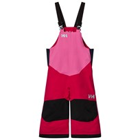 Helly Hansen Pink Kids Rider 2 Ins Ski Bib Pants 127 Bright Rose