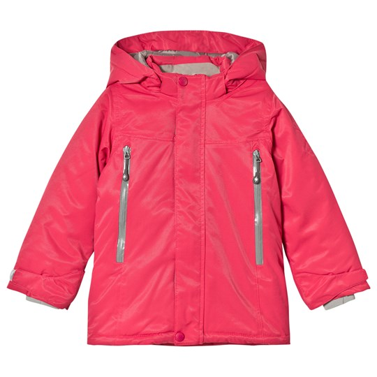 Mini A Ture Maja Pink Zip Ski Jacket RASPBERRY WINE