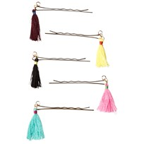 Molo Tassel Hair Clips Multi Color Multi color