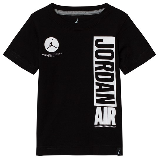 Air Jordan Black and White Short Sleeve Jordan Air Tee 023