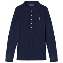 Ralph Lauren Navy Lightweight Polo with PP French Navy