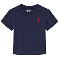 Ralph Lauren Navy Short Sleeve Tee with PP Cruise Navy