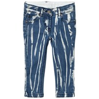 Stella McCartney Kids Blue Tye Dye Nina Jeans 4161