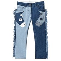 Stella McCartney Kids Blue Donkey Patch Lohan Jeans 4162