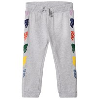 Stella McCartney Kids Red Multi Print and Branded Zoe Sweat Pants 1461
