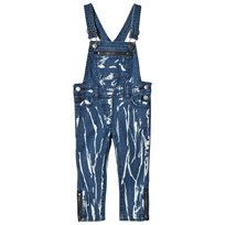 Stella McCartney Kids Tye Dye Lake Girl Dungarees 4161