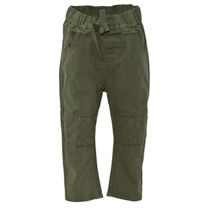 Image of ebbe Kids Nono Low Crotch Pant Patches Moss Green 80 (9-12 mdr) (243997)