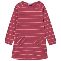 eBBe Kids Dress Allegra Stripe Autumn Rose/ Offwhite Autumn rose /offwhite stripe