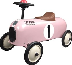 STOY Metal Racer Little Pink Car