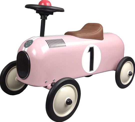 STOY Metal Racer Little Pink Car Pink