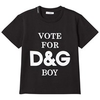 Dolce & Gabbana Black Vote for D&G Tee HNM13